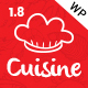 Cuisine - Restaurant WordPress Theme | Restaurant & Cafe - ThemeForest Item for Sale