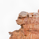Rock formation, resembling a human face, at Truitjieskraal - PhotoDune Item for Sale