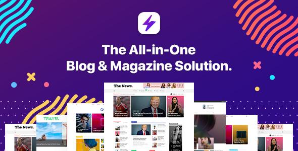 Blogit - Blog & Magazine WordPress Theme