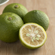 Free Download Fresh whole and halved  kabosu citrus fruit Nulled