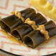 Free Download Traditional kelp rolls on a dish Nulled