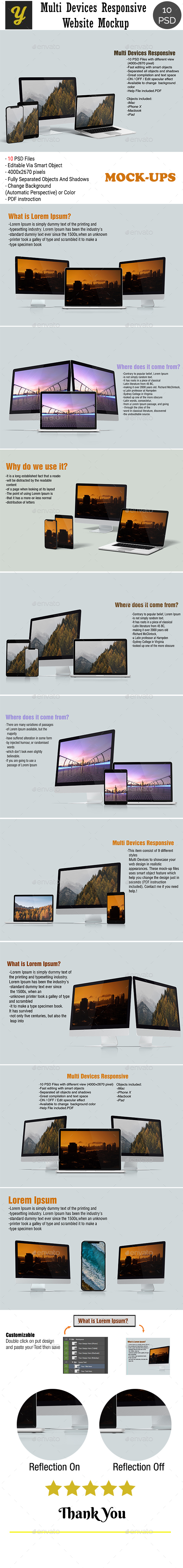 Showcase Product Display Mockups from GraphicRiver