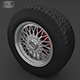 Wheel with tire - 3DOcean Item for Sale