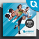 Fitness Instagram - GraphicRiver Item for Sale