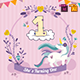 Baby Birthday Template - Vol. 7 - GraphicRiver Item for Sale