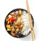 bowl of asian food - PhotoDune Item for Sale