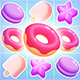 Sweet Match 3 Candy Game Assets - GraphicRiver Item for Sale