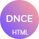 Dnce - Dance Studio Creative HTML Template - ThemeForest Item for Sale