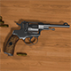 Nagan - Revolver M1835 3D - 3DOcean Item for Sale