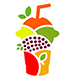Fresh Juice Fruits Mix Logo - GraphicRiver Item for Sale