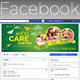 Kids Care Facebook Cover - GraphicRiver Item for Sale