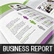 Business Report - Brochure - 5 color schemes - GraphicRiver Item for Sale