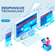 Responsive Technology Illustration - GraphicRiver Item for Sale