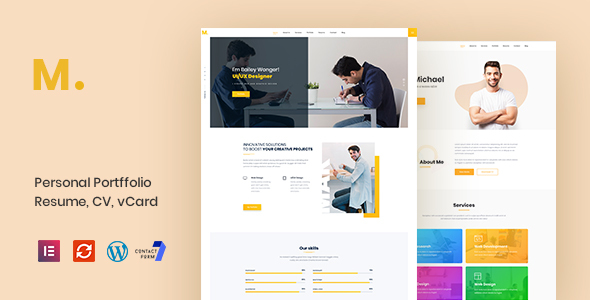 https://themeforest.net/item/mak-personal-portfolio-resume-wordpress-theme/22800988?ref=dexignzone
