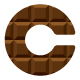 Chocolate C Letter Logo - GraphicRiver Item for Sale