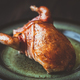 Baked quail wrapped in bacon - PhotoDune Item for Sale