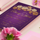 Modern Traditional Style Wedding Invitation - GraphicRiver Item for Sale
