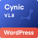 Digital Agency WordPress Theme - Cynic - ThemeForest Item for Sale