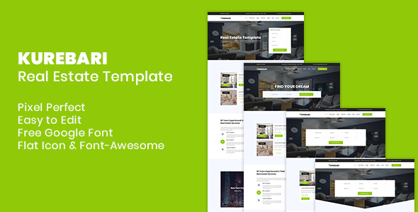 real estate templates from themeforest
