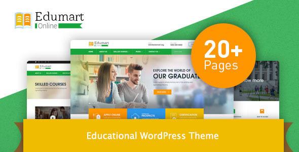 Edumart – Education WordPress Theme