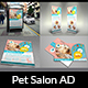 Pet Grooming Salon Advertising Bundle - GraphicRiver Item for Sale