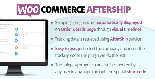 WooCommerce AfterShip - CodeCanyon Item for Sale