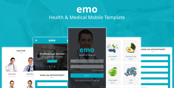 https://themeforest.net/item/emo-health-medical-mobile-template/23052651?ref=dexignzone