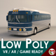 Low Poly Cartoon Intercity Bus - 3DOcean Item for Sale