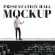 Presentation Hall Mockup - GraphicRiver Item for Sale