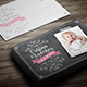 Baby Birth Announcement Card - GraphicRiver Item for Sale