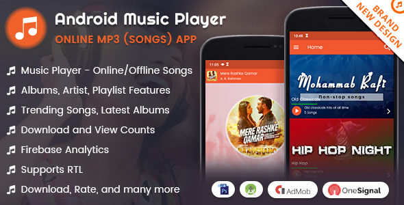 Android Music Player Online Mp3 Songs App By Viaviwebtech