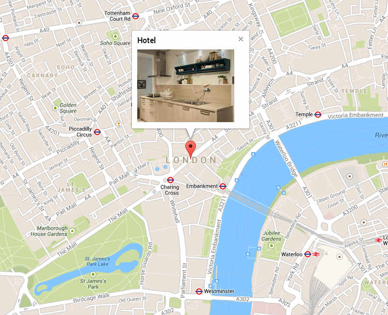 Google Maps With Infowindow Slideshow By Kematef Codecanyon