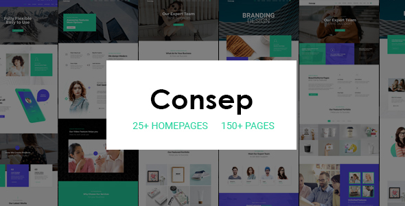 Special Consep - Responsive Multi-Purpose HTML5 Template