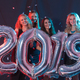 Free Download Party, people and new year holidays concept - cheerful young women celebrating new years eve 2019 Nulled