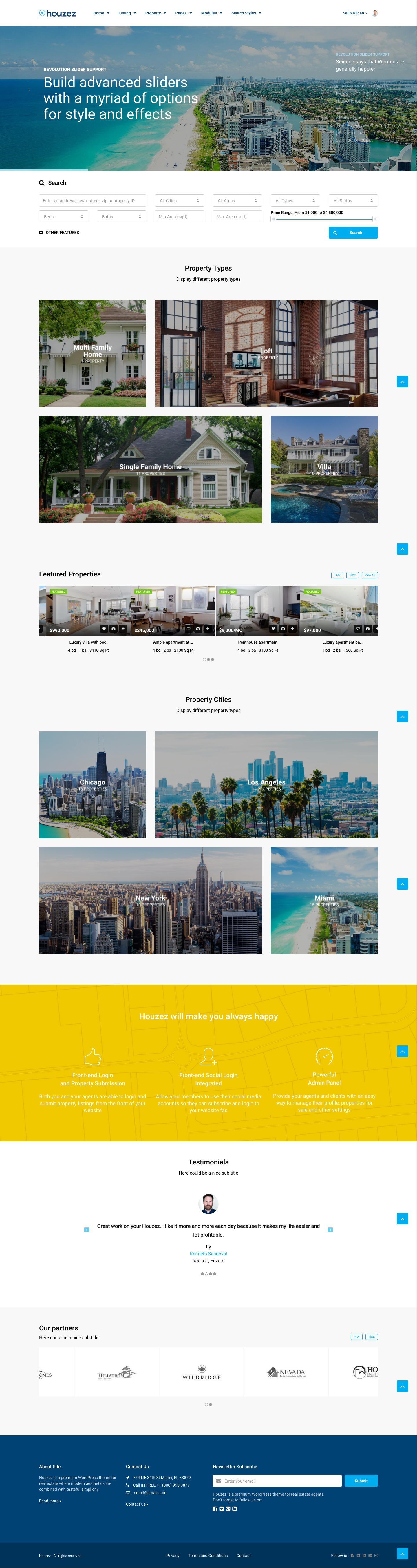 Houzez Real Estate Wordpress Theme By Favethemes Themeforest