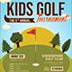 Kids Golf Tournament Flyer - GraphicRiver Item for Sale