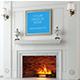 Fireplace Frame Mockup - GraphicRiver Item for Sale