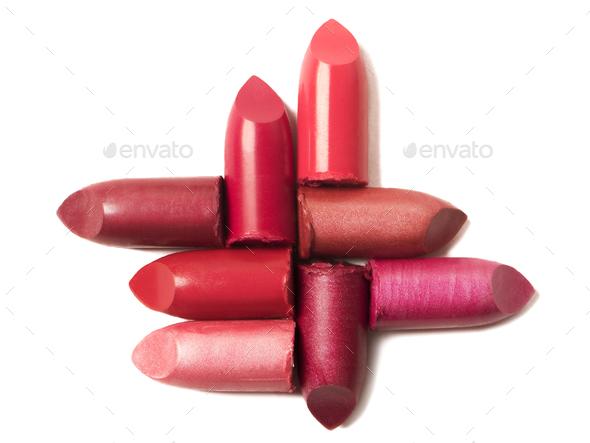 Lipsticks - Stock Photo - Images