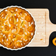 Apricot Cake on a Wooden Chopping Board - PhotoDune Item for Sale