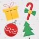 Christmas Colored Icons - VideoHive Item for Sale