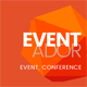EventAdor Event Conference Marketing WordPress Theme - ThemeForest Item for Sale