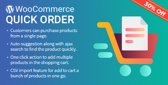 B2B Quick Order Plugin for WooCommerce - CodeCanyon Item for Sale