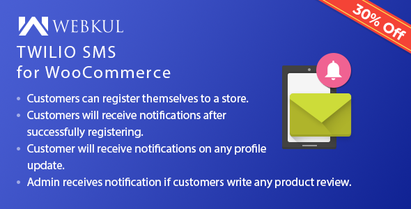 Twilio SMS Notification for WooCommerce - CodeCanyon Item for Sale