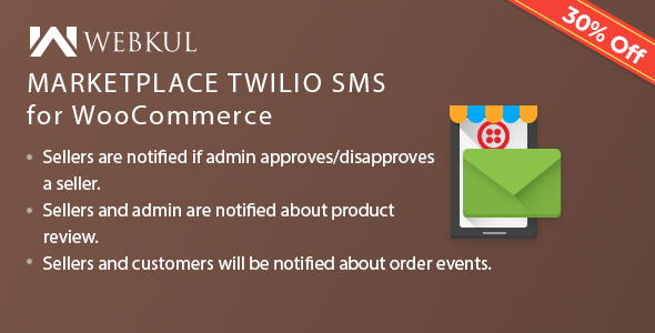 Multi-Vendor SMS Notification for WooCommerce - CodeCanyon Item for Sale
