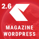 NewEdge - Responsive WordPress Magazine Theme - ThemeForest Item for Sale
