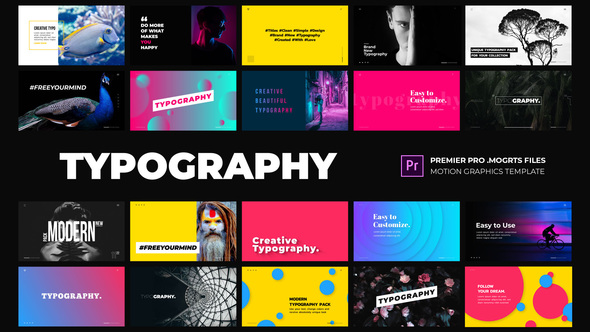 Free Download Modern Typography - Essential Graphics   Mogrt