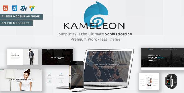 Kameleon | Responsive Creative Theme - Creative WordPress