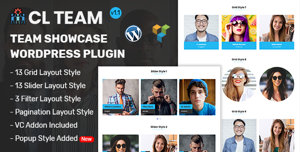 CL Team - Team Showcase WordPress Plugin