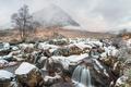Snow at Buachaille Etive Mor - PhotoDune Item for Sale