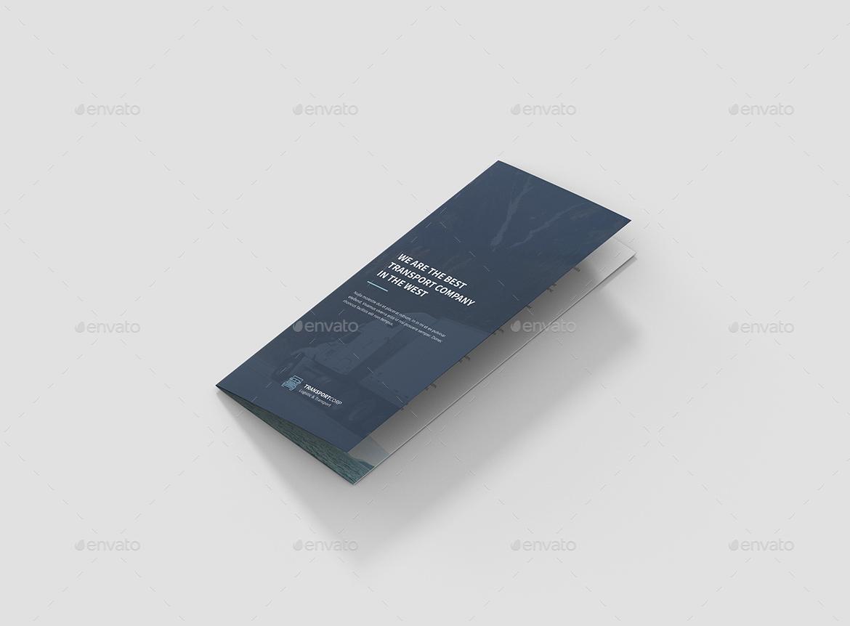 brochure  transport trifoldartbart  graphicriver